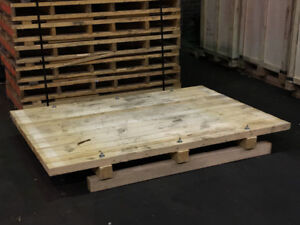 Skids/Pallets 7 x 4.5 solid construction