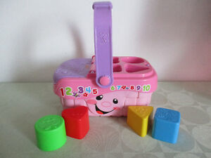 PANIER   DE   FORME   FISHER-PRICE    SONORE  COMPLET