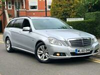 2011 MERCEDES E220 CDI Blue SE AUTOMATIC ESTATE DIESEL HEATED LEATHERS