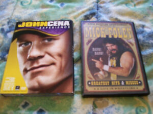 CACTUS JACK & JOHN CENA DVD SET'S 5 DVD'S IN ALL WCW ECW WWE