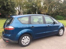 56 2006 FORD S MAX 2.0 MOT SMOOTH DRIVE 7 SEATER FAMILY CAR *QUICK SALE*