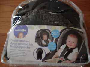 Babies R Us Double Car Seat and Stroller Headrest - Black Circle