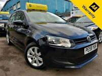 2009 VOLKSWAGEN POLO 1.6 SE TDI 74 BHP! P/X WELCOME! £20 TAX+AUX+FULL VW S-HIST!