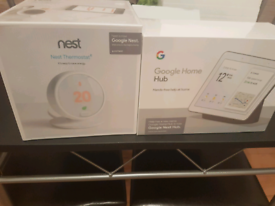 Bundle Deal Google Thermostat E And Google Home Hub