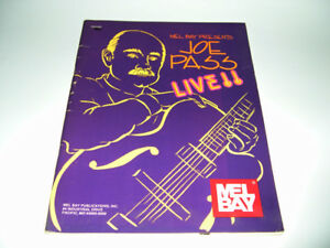Joe Pass Live!! - Partitions de musique Jazz
