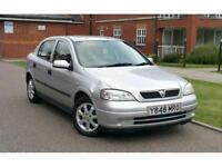 2001 Vauxhall Astra 1.6 i 16v Club 5dr **F/S/H+2 OWNERS+LOW MILES**