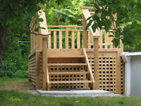 Decks and Sheds  Cost effective, well built