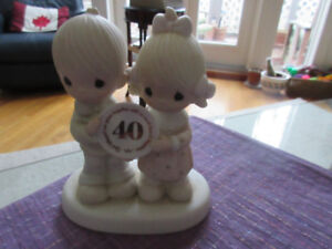 Precious Moments 40th Anniversary Figurine, - adorable