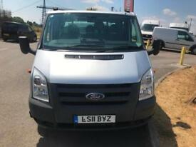 Ford Transit DOUBLE CAB DROP SIDE VAN 2.4TDCI 115PS LONG WHEEL BASE RWD