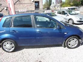 FORD FIESTA 1.4 ghia 2007 Petrol Manual in Blue