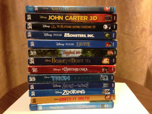 NEW LOWERED PRICES ON HUGE!!!  3D Blu ray Collection