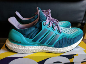 DS Adidas Ultraboost 2.0 Women Turquoise AF5140 (Size 9)