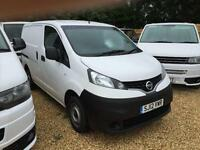NISSAN NV200 DCI SE 1.5TDI 110ps twin side loads doors, White, Manual, Diesel, 2