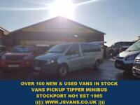 2016 66 MERCEDES-BENZ VITO 114 BLUETEC TOURER PRO 5D 136 BHP ONLY 12000 MLS FUL
