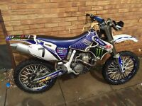 Yamaha yz426f 2002 for sale