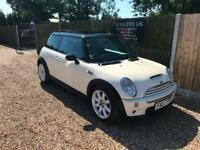 2003/53 Mini Cooper S 1.6 Chilli Service History Pan Roof P/X Welcome