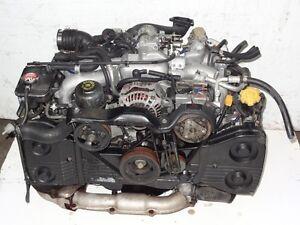 99-05 SUBARU WRX IMPREZA TURBO ENGINE JDM J20 TURBO MOTOR ONLY