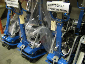 COMPACTORS - ALL SIZES; GAS; DIESEL/SCREED/PUMPS/SAWS/HAND TOOLS