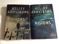 First 2 Hardcover books in Kelley Armstrong's Cainsville Series