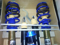 Suspension Coilovers AP par KW - VW Golf MK7  Tdi,Gti,1.8T, 'R'