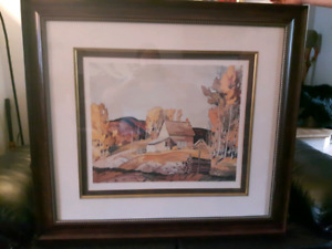 Near Nobel by A.J. Casson numbered print