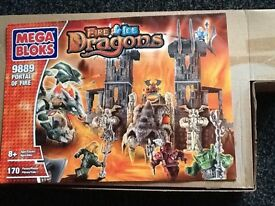 Megabloks fire and ice dragons