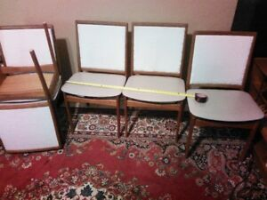 Danish Teak Chairs (5) for Dining Room or Office - $525 o.b.o.