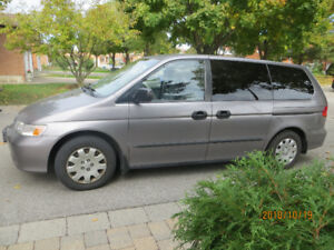 Honda Odyssey 2000,orig owner, 250000km, no rust/accidents