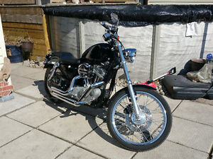 Harley Sportster 883C with 1214cc big bore kit-Very Clean