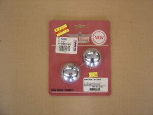 Show Chrome Front Fork Cap Covers For Honda & Yamaha