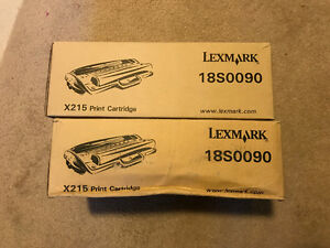 Lexmark X215 with 2 new cartridges 18S0090