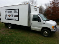 About All Moves...Professional Movers... 902-440-4402.
