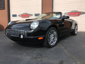 2002 Ford Thunderbird Roadster Only 10,480 Original Km 1 owner