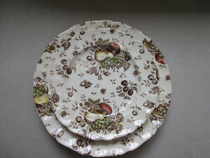 Vaiselle JOHNSON BROS AUTUMN'S DELIGHT DISHES MADE IN ENGLAND