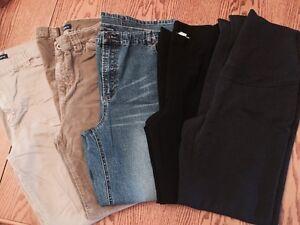 Pantalons de maternité (thyme et autre) - petit/small