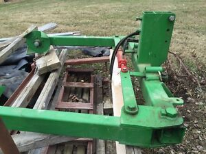 Bale Unroller and Stabber Combination for 3 Point Hitch