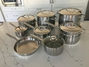 16-piece Cuisinart Stainless Steel Cookset (incl. stockpots)