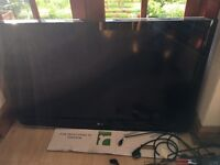 """LG HD LED TV TELEVISION 47"""" - SPARES OR REPAIRS - 47LH3000"""
