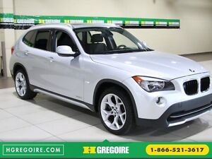 2012 BMW X1 28i AWD AUTO A/C CUIR TOIT PANO MAGS