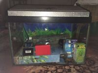 Aquarium 40L 46x30x30cms