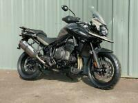TIGER 1200 DESERT EDITION ADVENTURE TOURING COMMUTING MOTORCYCLE