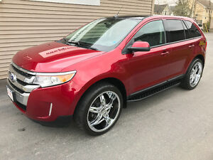 2013 FORD EDGE SEL - ROLLING ON 22's - CHEAPEST AROUND BY FAR!!!