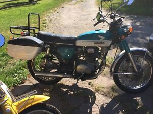 1970 Honda CB350 works great, unrestored, driver condition Peterborough Peterborough Area image 5