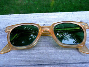 nerd 1950s-60s PARMELEE uk SAFETY GLASSES industrial STEAMPUNK Cambridge Kitchener Area image 7