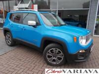 2016 Jeep Renegade M-JET LIMITED 9 Speed Auto 4X4 Diesel blue Automatic