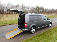 2011 61 Volkswagen Caddy Maxi Life C20 1.6 Tdi WHEELCHAIR ACCESSIBLE VEHICLE WAV