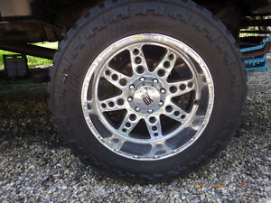 Ford 8 Bolt rims and rubber