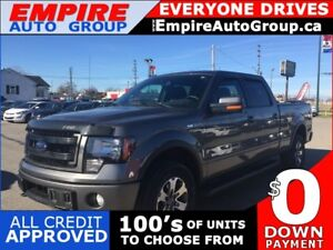 2014 FORD F-150 FX4  * 4WD * ONE OWNER * POWER GROUP * LOW KM