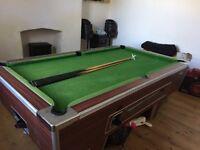 7x4 full pub pool table