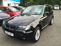 BMW X3 2.0d 2007MY M Sport 76k FSH immaculate condition throughout